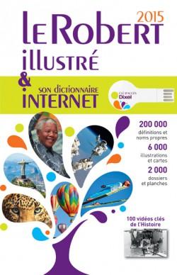 Dictionnaire Robert illustré édition 2015 (parution 2014)